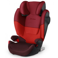 CYBEX Solution M-FIX Silver 2021 Rumba Red