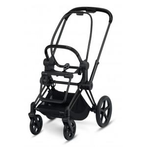 CYBEX PRIAM MATT Black + Seat 2019 Podvozok