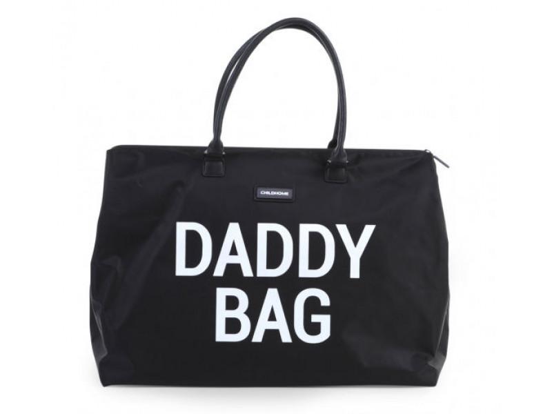 Childhome Prebaľovacia taška Daddy Bag Big Black