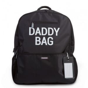 Childhome Prebaľovací batoh Daddy Bag Black
