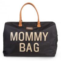 Childhome Prebaľovacia taška Mommy Bag Big Black Gold