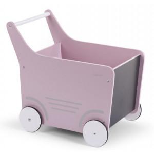 Childhome Kočík drevený Soft Pink