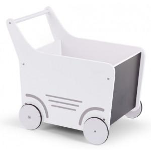 Childhome Kočík drevený White