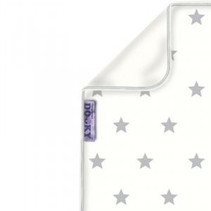 DOOKY Blanket deka Silver STARS 70x85cm