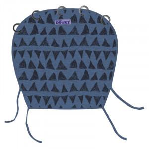 DOOKY DESIGN Blue Tribal Slnečná clona