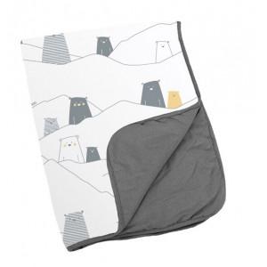 DOOMOO Dream bavlnená deka, col.DS04