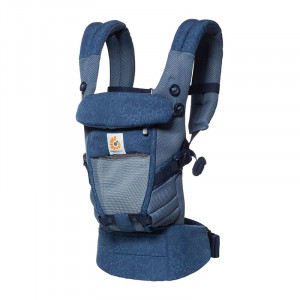 ERGOBABY ADAPT Nosič COOL AIR MESH - Blue Blooms