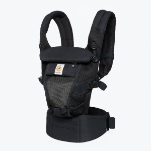 ERGOBABY ADAPT Nosič COOL AIR MESH - Onyx Black