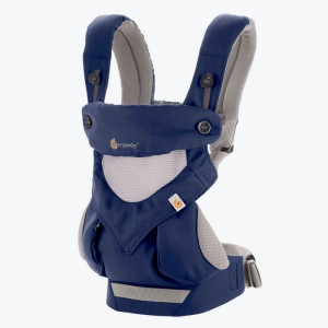 ERGOBABY Nosič 360 COOL AIR - French Blue