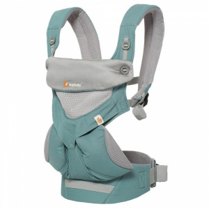 ERGOBABY Nosič 360 COOL AIR - Icy Mint