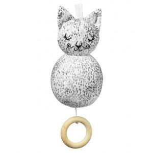 Elodie Details Hudobná hračka Dots of Fauna Kitty