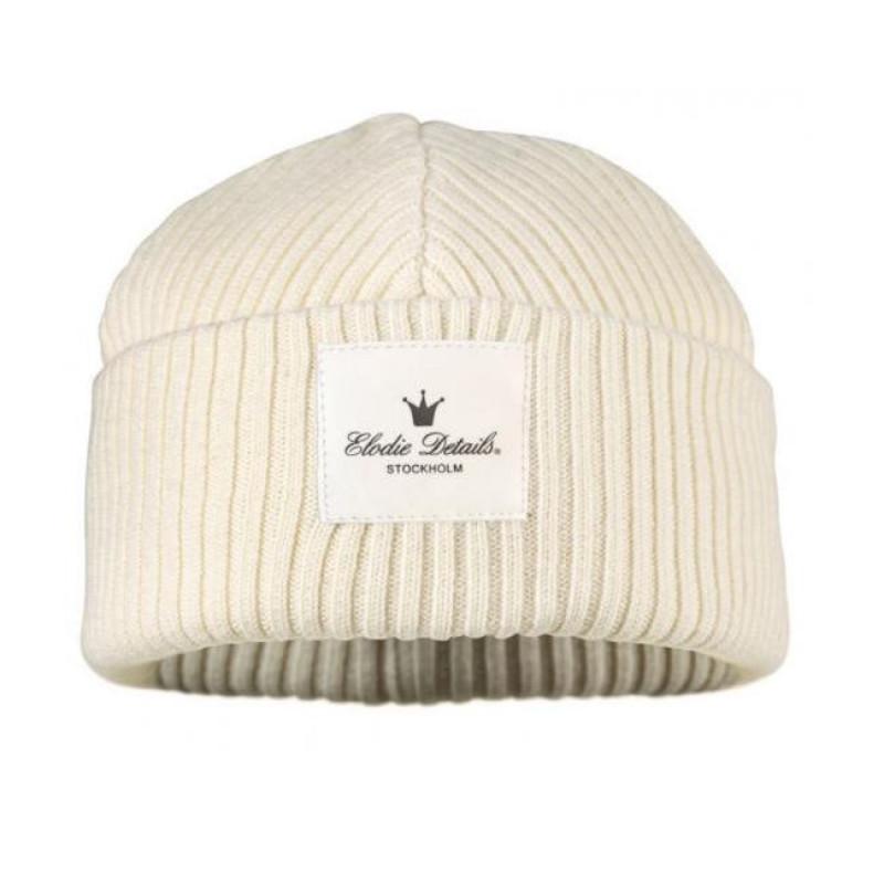eaae28984 Elodie Details Vlnená čiapka Vanilla White - Čiapočky jeseň / zima