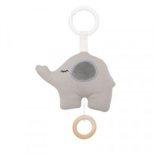 Jabadabado Hudobná hračka slon sivý