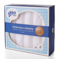 XKKO Plienka BIOBAVLNA Organic 5ks 70x70cm Staré časy - Biele