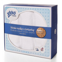 XKKO Osuška BIOBAVLNA Organic 3ks 90x100cm Staré časy - Biele