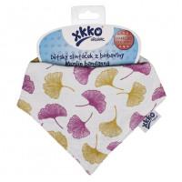 XKKO Bio bavlna Organic slintáčik Staré časy - Gingko