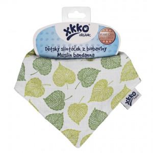 XKKO Bio bavlna Organic slintáčik Staré časy - Linden