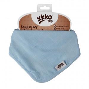 XKKO Bambusový slintáčik Baby Blue