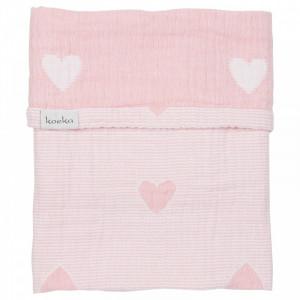 Koeka Deka Altea Hearts 75x100 - blush pink
