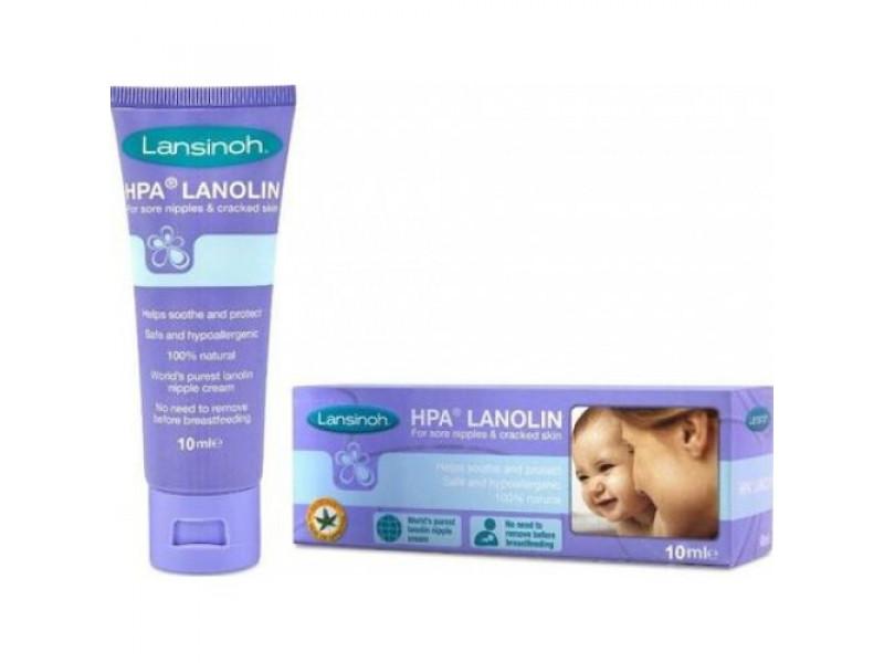 Lansinoh Krém na bradavky HPA® Lanolín 10 ml
