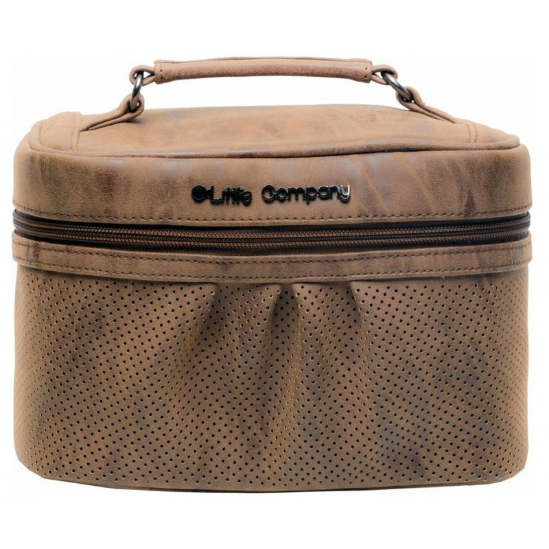 09f74cafcbb16 Little Company Beautycase kozmetická taška EMILY cognac - Košíky a ...