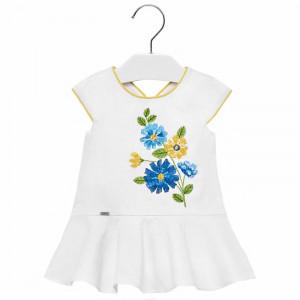 Šaty MAYORAL s výšivkou Kvety, Girl (4D)
