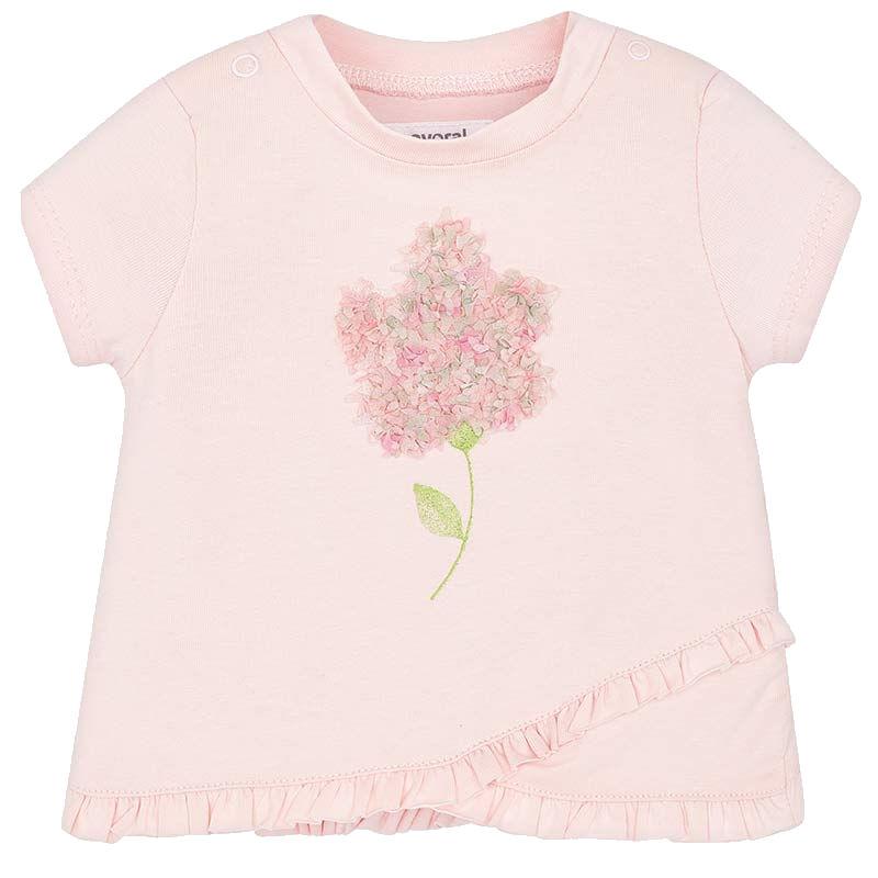 49b10cb0657b Tričko MAYORAL ružové Kvietok
