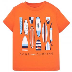 Tričko MAYORAL oranžové Surfing, Boy (3F)