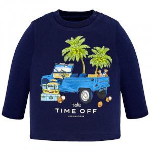 Tričko MAYORAL modré Nákladné auto, Boy (3B)
