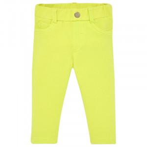 Nohavice MAYORAL žlté, Girl (4H)