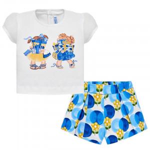 Súprava MAYORAL Tričko s kraťasmi Dievčatká, Girl (4D)