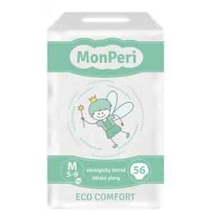 MonPeri detské plienky ECO comfort M 5-8kg, 56ks/bal