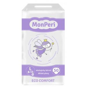 MonPeri detské plienky ECO comfort L 8-12kg, 50ks/bal