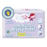 MonPeri detské plienky L 8-12kg, 38ks/bal