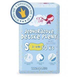 MonPeri detské plienky S 3-6kg, 50ks/bal