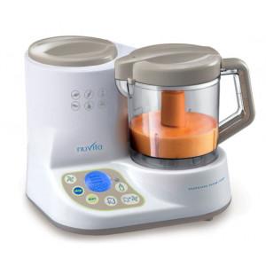 NUVITA Robot + ohrievač fliaš + sterilizátor