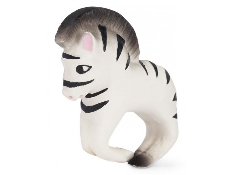 OLI&CAROL Náramkové hrýzatko Zebra Zoe