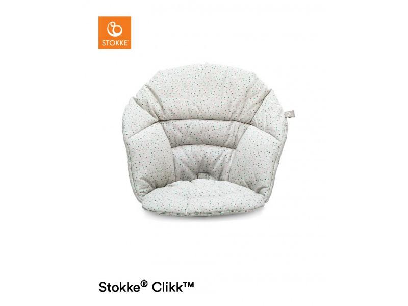 Stokke Clikk vankúšik - Grey Sprinkles