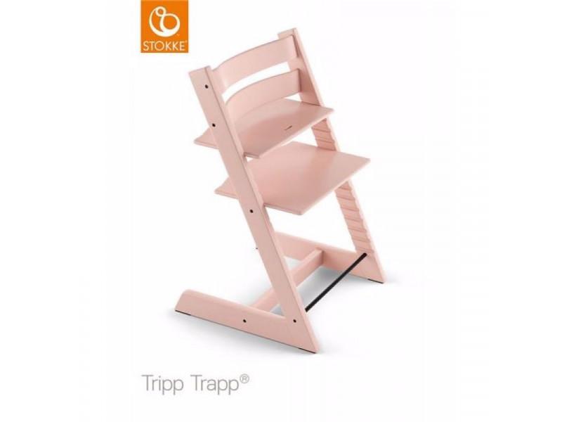 Stokke stolička Tripp Trapp Classic Collection Serene Pink