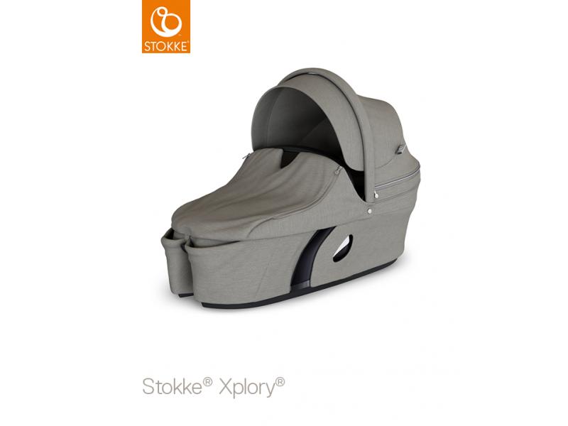 Stokke Xplory V6 Carry Cot Brushed