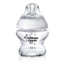 Tommee Tippee Dojčenská fľaša C2N 150ml sklenená, 0m +