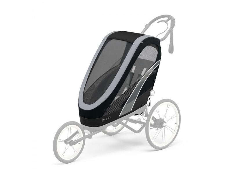 Cybex Zeno športový kočík 2021 Seat Pack All Black