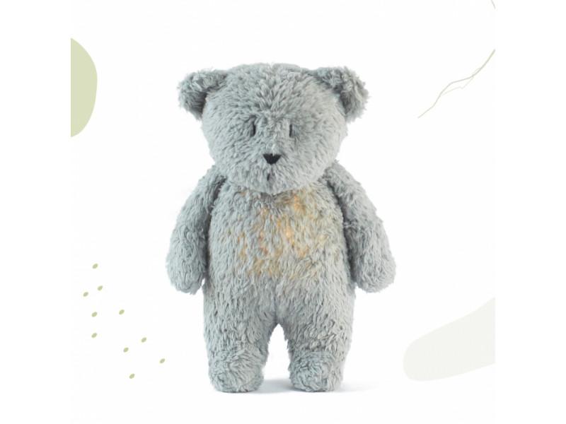 Moonie Uspávačik Medveď  Mineral Grey