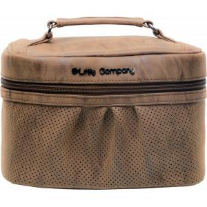 Little Company Beautycase kozmetická taška EMILY cognac