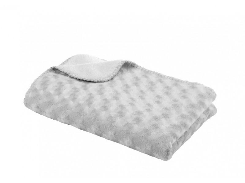 Baby Dan Deka double fleece obojstranná 75x100 šedá
