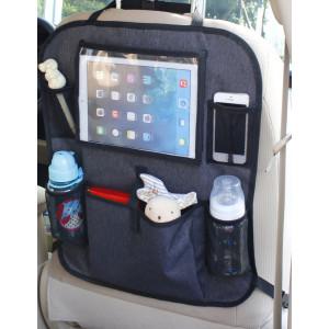 Baby Dan Vreckár do auta s vreckom na tablet, Luxury Grey