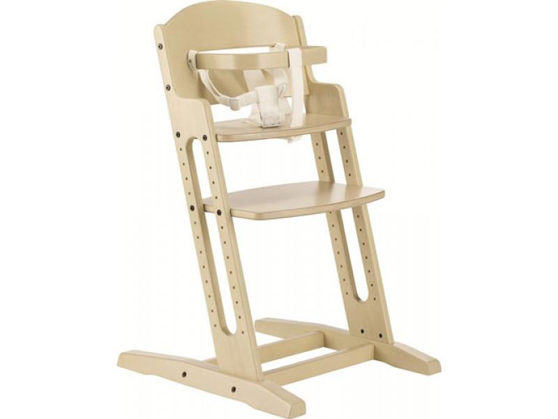 Baby Dan Drevená jedálenská stolička DanChair WHITE WASH