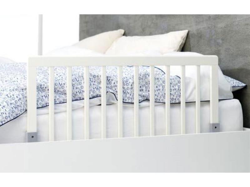 Baby Dan Zábrana k posteli drevená biela 45x90cm