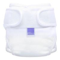 Bambino Mio Miosoft plienkové nohavičky biele veľ.1 (0-9kg)