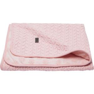 Bebe-Jou Detská deka Samo 90 x 140 cm - Fabulous blush pink